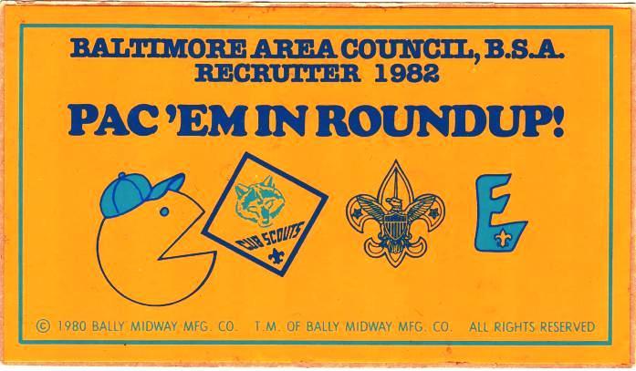 1993 National Scout Jamboree Atlanta Area Council Pin